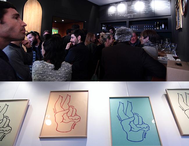 exposition Steven Burke à l'Artnoa et L'Etiquette Biarritz