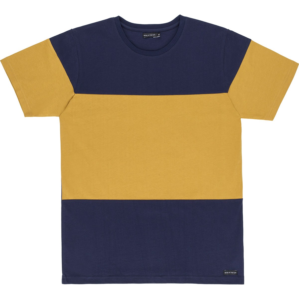 T-shirt en coton bio mustard adi - Bask in the Sun num 0