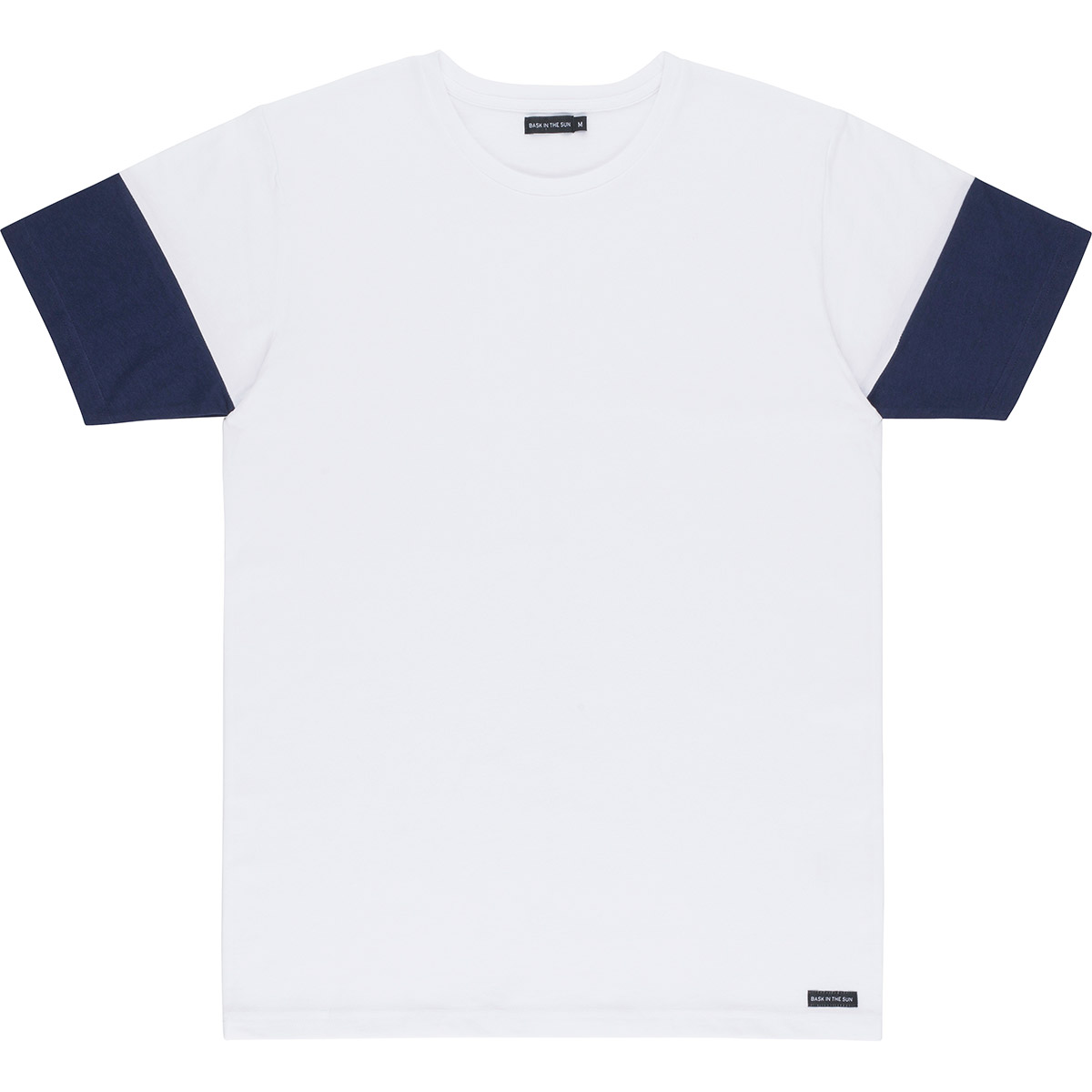 Bask in the Sun - T-shirt en coton bio white kartakan