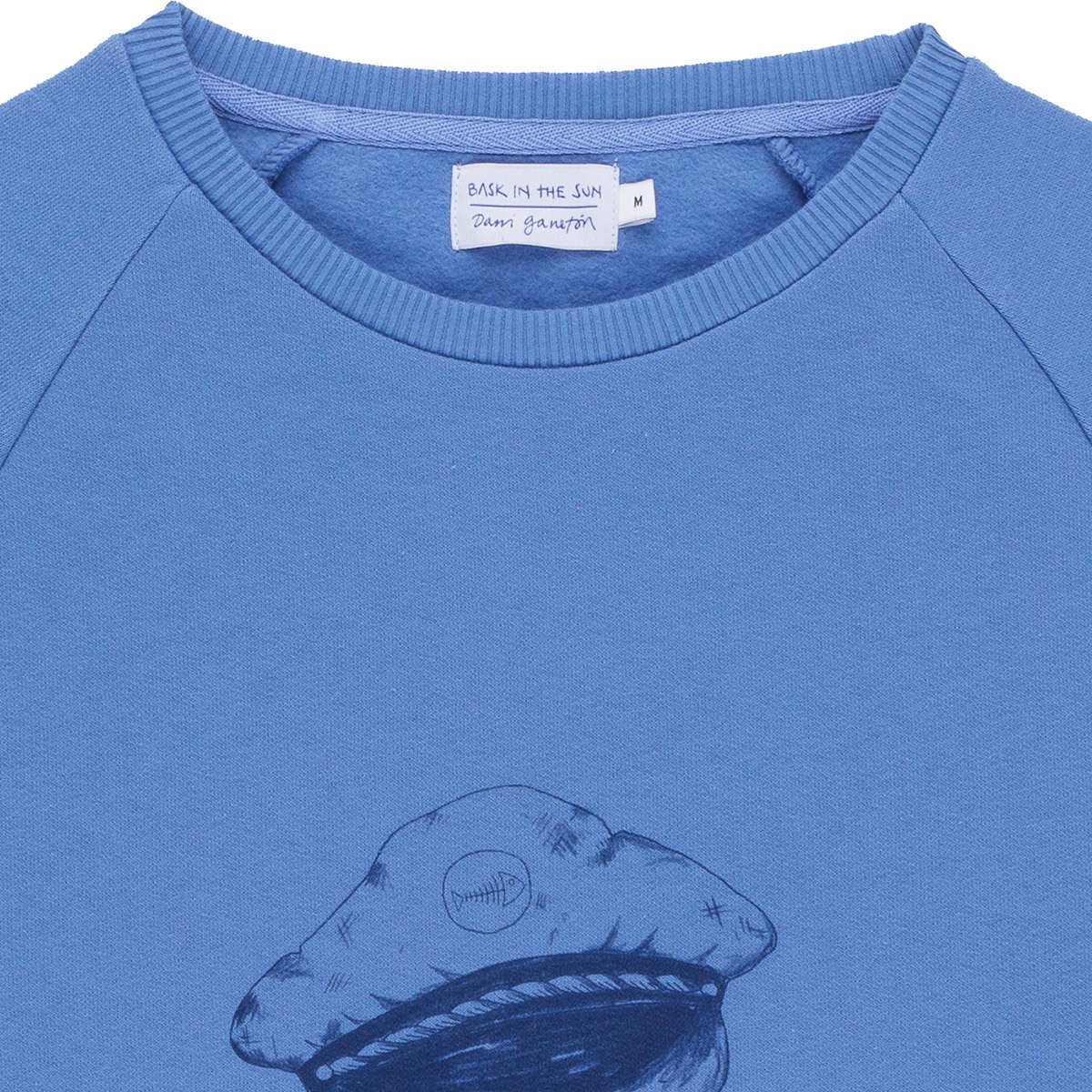 Sweat en coton bio blue seagull - Bask in the Sun num 2