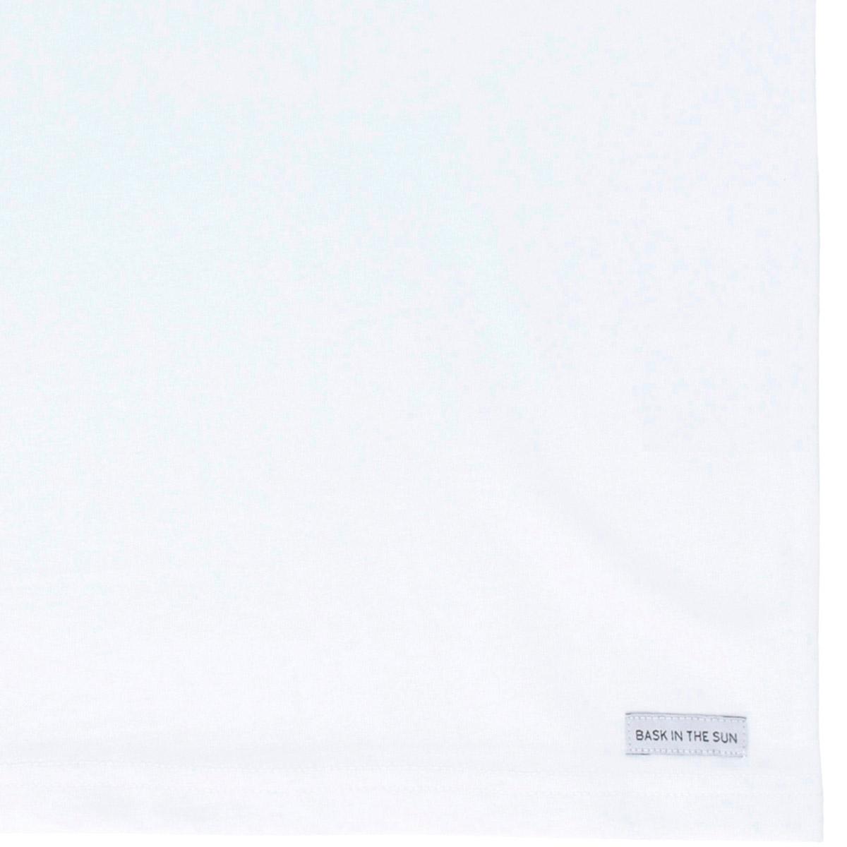 T-shirt en coton bio white seagull - Bask in the Sun num 2