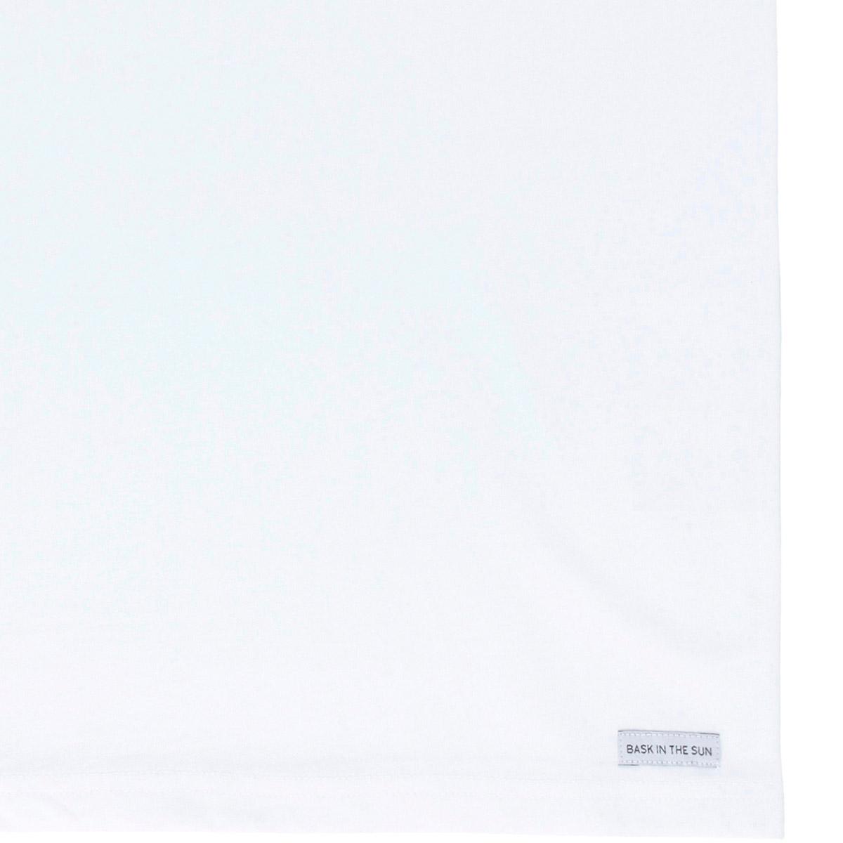 T-shirt en coton bio white to the sea - Bask in the Sun num 3