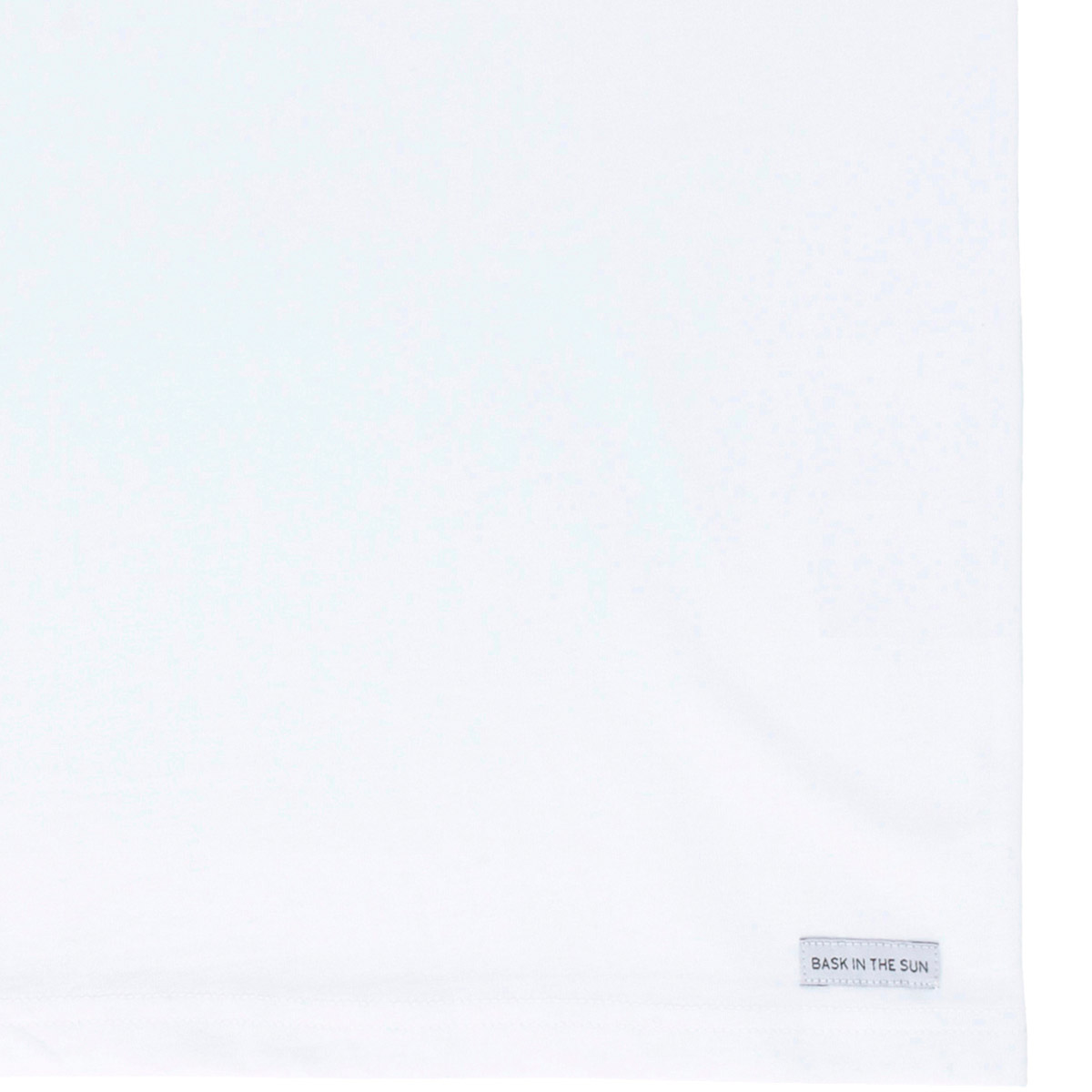 T-shirt en coton bio white hippocampe - Bask in the Sun num 3