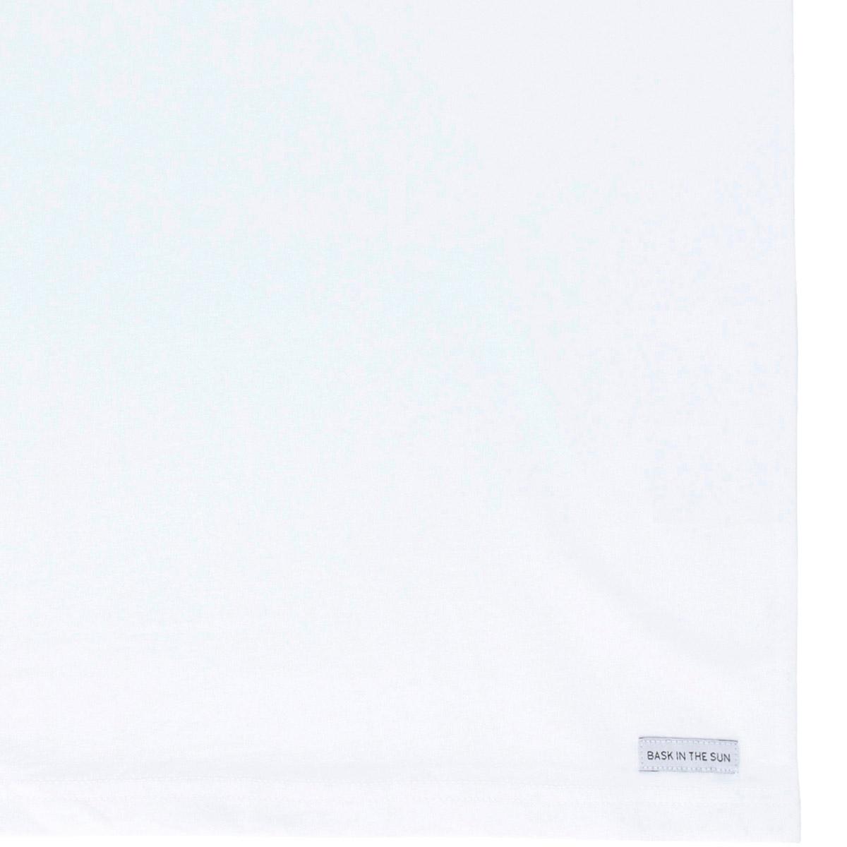 T-shirt en coton bio white poussin - Bask in the Sun num 3