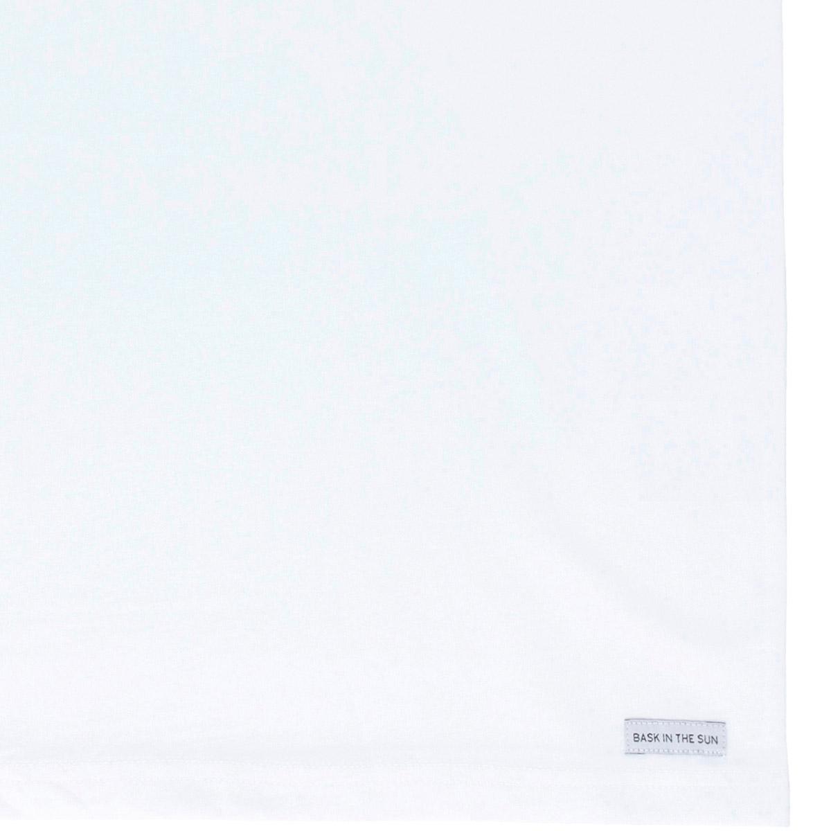 T-shirt en coton bio white pablo - Bask in the Sun num 3