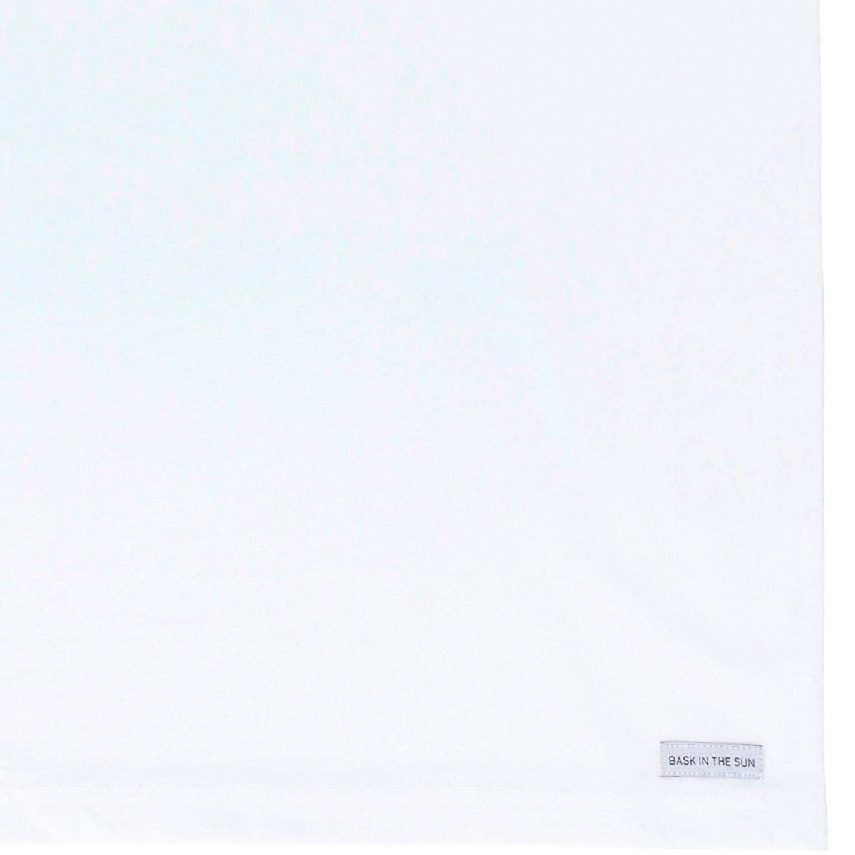 T-shirt en coton bio white shellphones - Bask in the Sun num 3