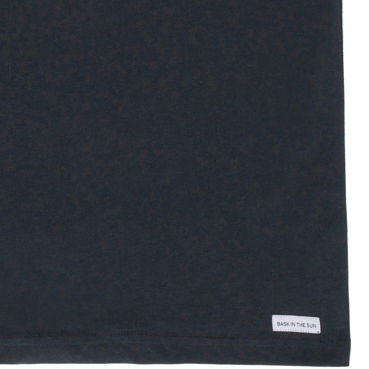 T-shirt en coton bio black radio cetace - Bask in the Sun num 3