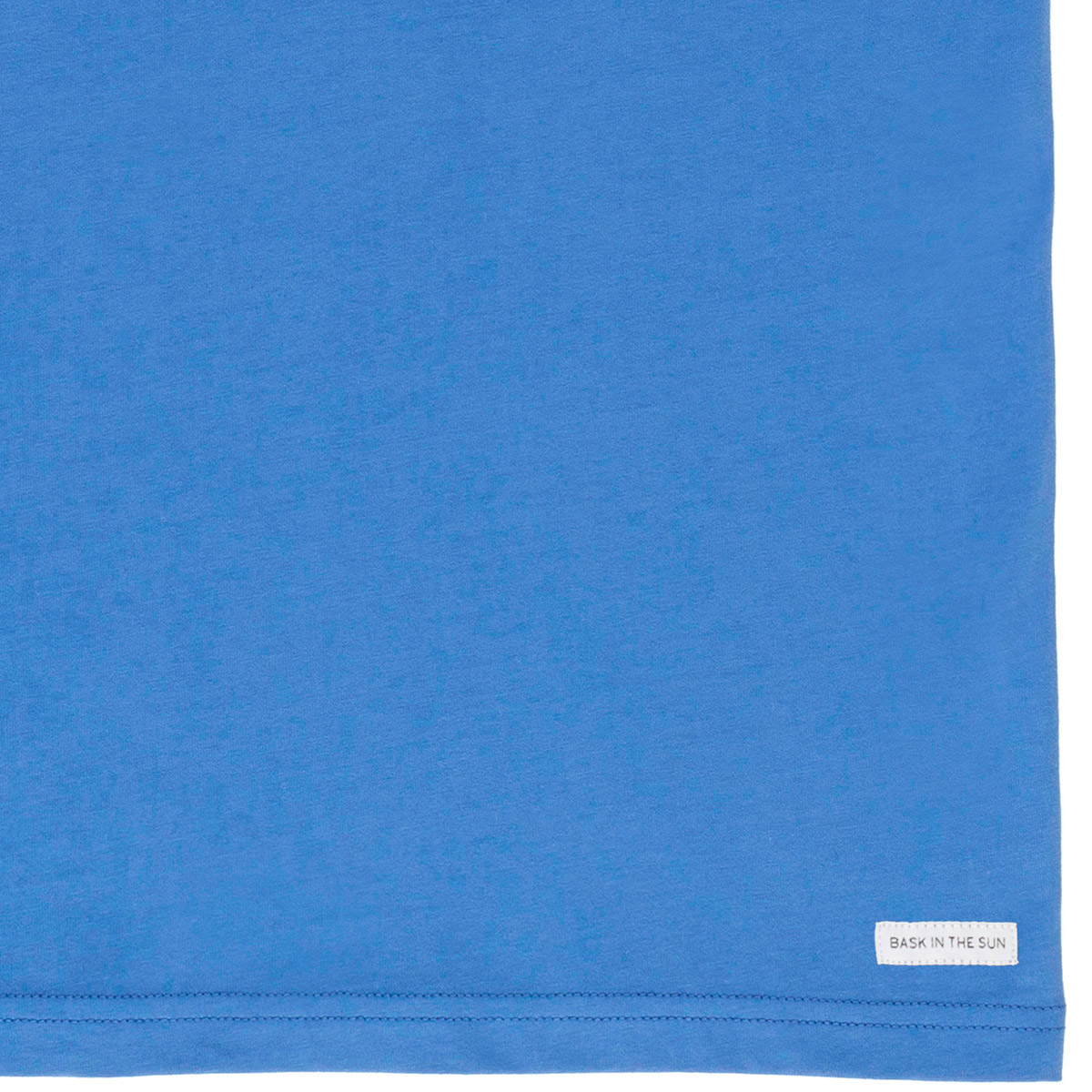 T-shirt en coton bio blue radio cetace - Bask in the Sun num 3