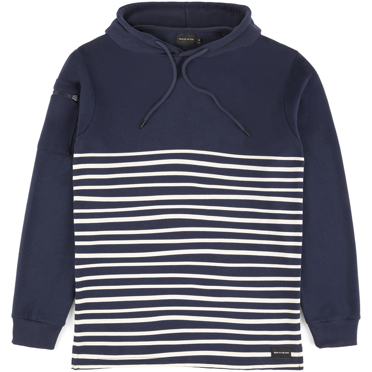Bask in the Sun - Sweat en coton bio navy esperanza