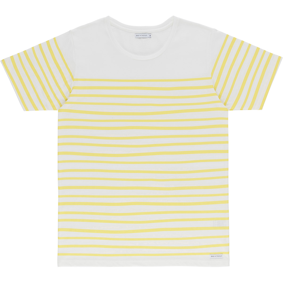 Bask in the Sun - T-shirt en coton bio yellow esperanza