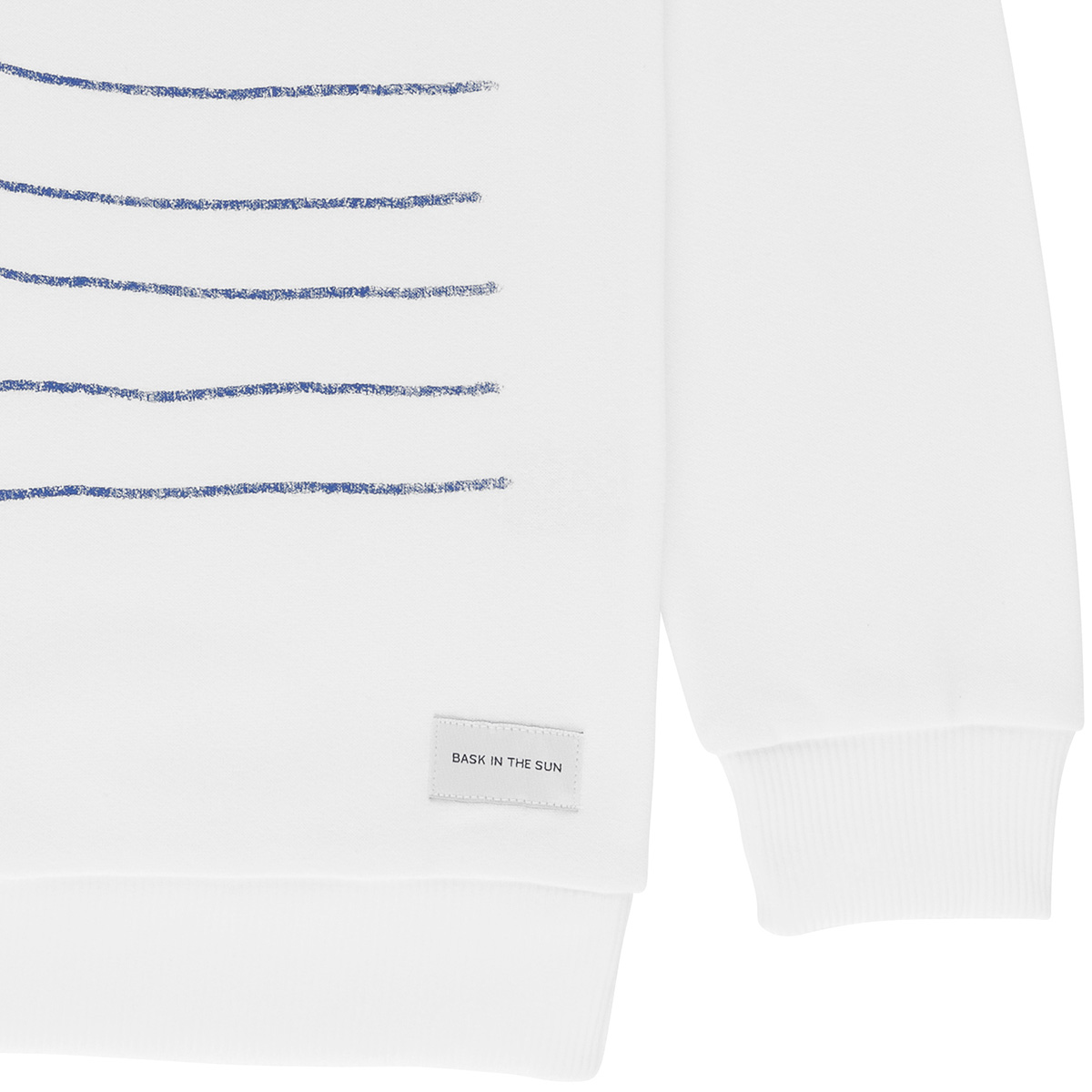 Sweat en coton bio white swell - Bask in the Sun num 3