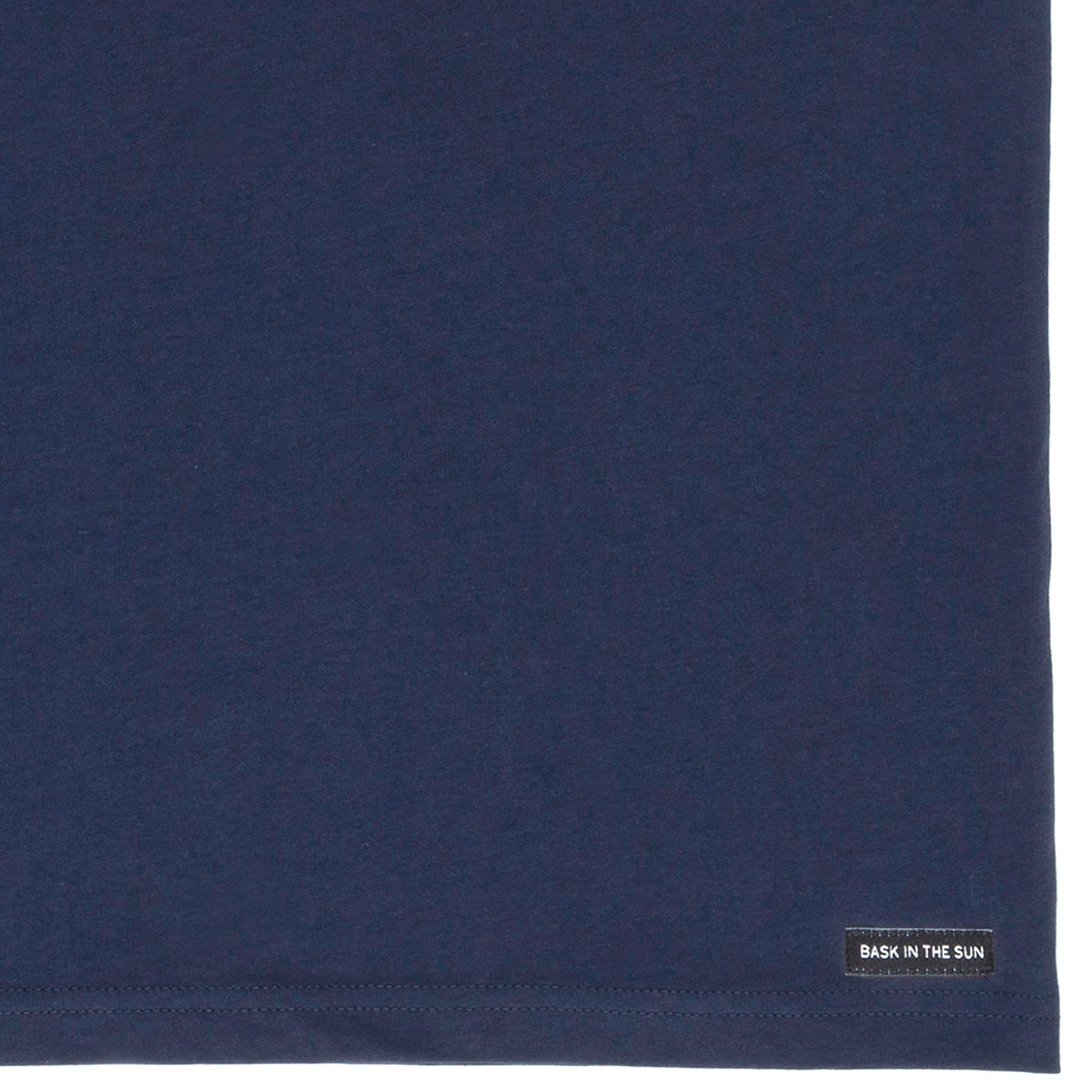 T-shirt en coton bio navy to the sea - Bask in the Sun num 3