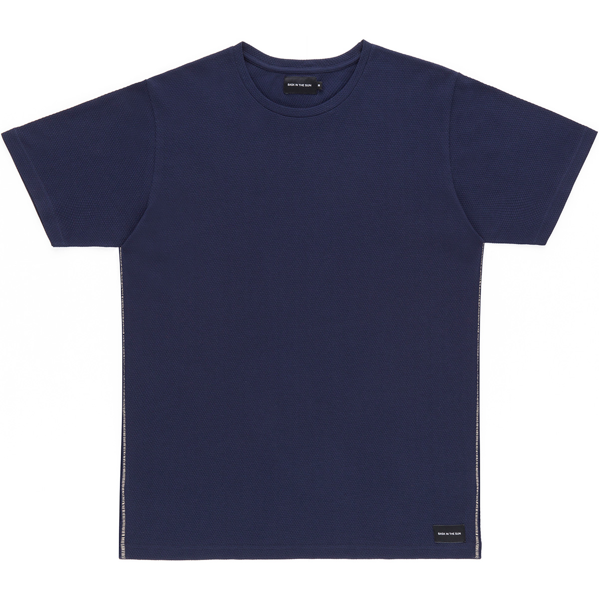 Bask in the Sun - T-shirt en coton bio navy gamiz